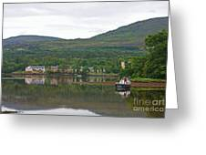 Fishing Boat On Kenmare River West Kerry Greeting Card