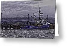 Fishing Boat09 Greeting Card