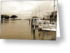 Fishing Boats Greeting Card