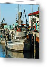 Fishing Boats In Nome Greeting Card