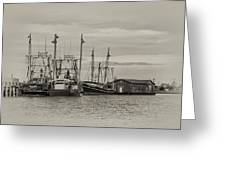 Fishing Boats - Wildwood New Jersey Greeting Card