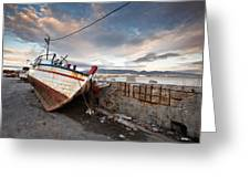 fishing boats 'XVI Greeting Card