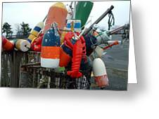 Fishing Buoys Greeting Card