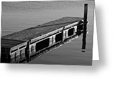 Fishing Dock Greeting Card
