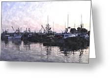 Fishing Fleet Ffwc Greeting Card