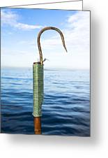 Fishing Gaff Greeting Card