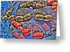 Fishing Gear Greeting Card by Heidi Smith