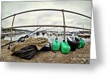 Fishing Gear Greeting Card