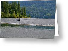 Fishing Lake Merwin Greeting Card