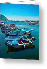 Fishing Livelihood  Greeting Card