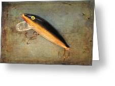 Fishing Lure II Greeting Card
