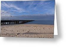 Fishing Pier 3 Greeting Card