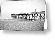 Fishing Pier Greeting Card