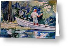 Fishing Spruce Creek Greeting Card