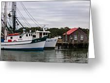 Fishing Trawlers Greeting Card
