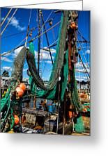 Fishing Vessel Greeting Card