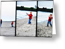 Fishing With Dad - Catch And Release Greeting Card