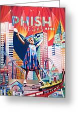 Fishman In Vegas Greeting Card
