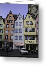 Fishmarket Townhouses 2 Greeting Card