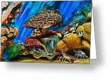 Fishtank Greeting Card
