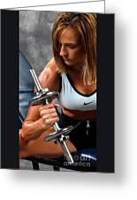 Fitness 26-2 Greeting Card