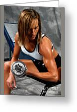Fitness 28-2 Greeting Card