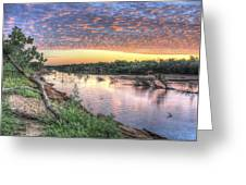Fitzroy River Greeting Card by Ian  Ramsay