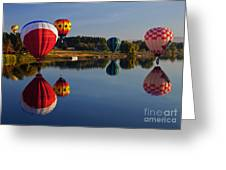 Five Aloft Greeting Card by Mike  Dawson