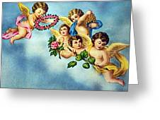 Five Angels Greeting Card