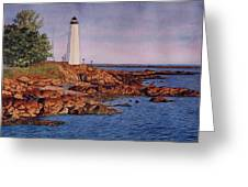 Five Mile Point Lighthouse Greeting Card