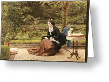 Five Oclock Greeting Card