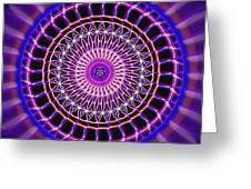 Five Star Gateway Kaleidoscope Greeting Card