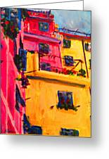 Five Terra Italy Greeting Card