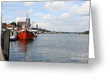 Fjord Schlei - Kappeln Greeting Card