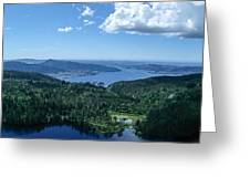 Fjord View Greeting Card