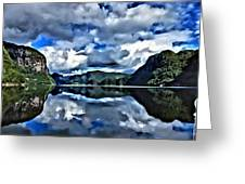Fjords Of Norway Greeting Card