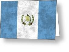 Flag Of Guatamala Greeting Card
