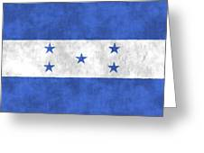 Flag Of Honduras Greeting Card