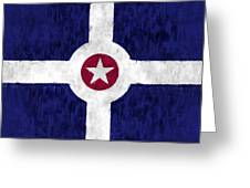 Flag Of Indianapolis Greeting Card