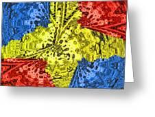 Flag Of Mars Greeting Card