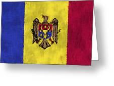 Flag Of Moldavia Greeting Card