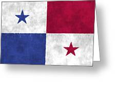 Flag Of Panama Greeting Card