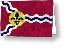Flag Of St.louis Greeting Card