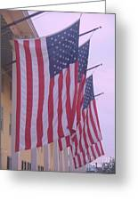 Flags At Cape May Nj Greeting Card