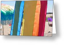 Flags In Provincetown Greeting Card