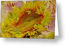 Flame Flower Greeting Card