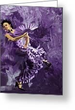 Flamenco Dancer 023 Greeting Card