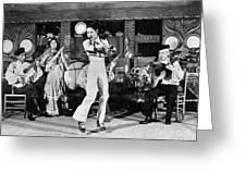 Flamenco Dancer, 1942 Greeting Card