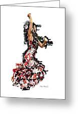 Flamenco Series #12 Greeting Card