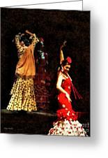 Flamenco Series #6 Greeting Card